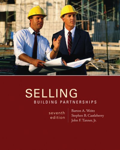 Selling Building Partnerships 7th 2009 edition cover