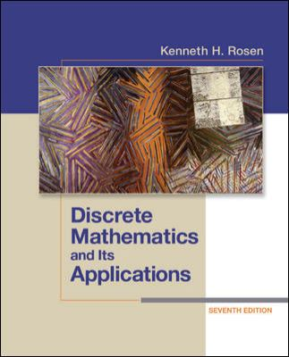 Discrete Mathematics and Its Applications + ConnectPlus Access Card  7th 2012 edition cover