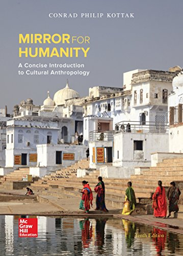 Mirror for Humanity: A Concise Introduction to Cultural Anthropology 10th 2015 9780078117084 Front Cover