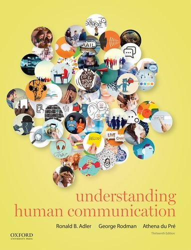 Understanding Human Communication:   2016 9780190297084 Front Cover