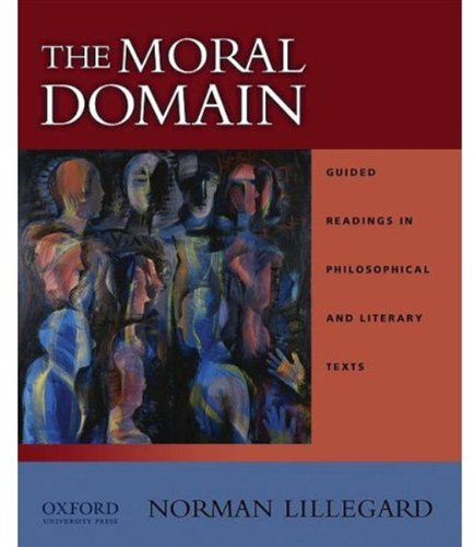 Moral Domain Guided Readings in Philosophical and Literary Texts  2010 edition cover