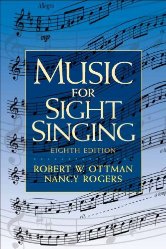Music for Sight Singing  8th 2011 edition cover