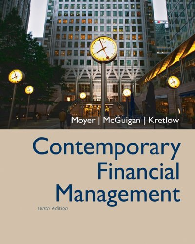 Contemporary Financial Management  10th 2006 edition cover