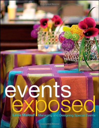 Events Exposed Managing and Designing Special Events  2011 edition cover