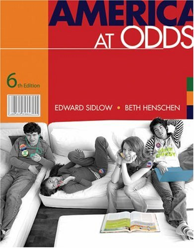 America at Odds  6th 2009 (Revised) edition cover