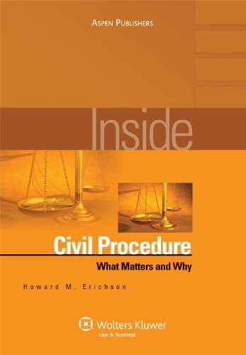Civil Procedure   2009 (Student Manual, Study Guide, etc.) edition cover