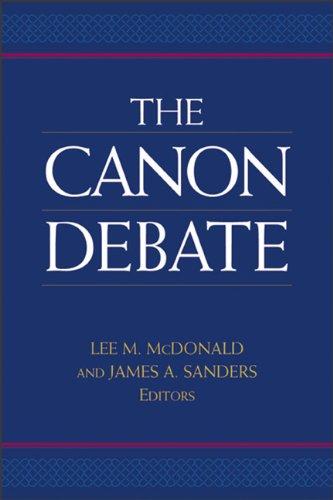Canon Debate  N/A edition cover