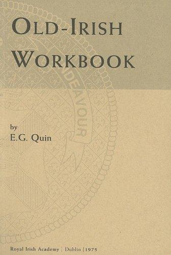 Old-Irish Workbook   1975 edition cover