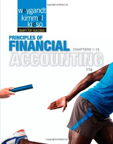 Principles of Financial Accounting, Chapters 1-18  11th 2013 edition cover