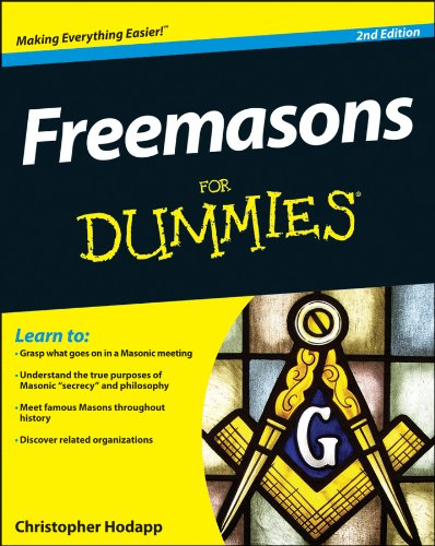 Freemasons for Dummies�  2nd 2013 edition cover