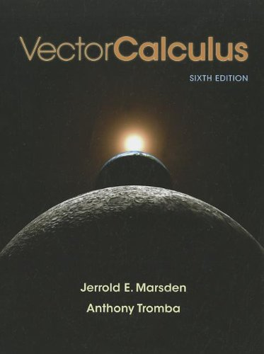 Vector Calculus  6th 2012 edition cover