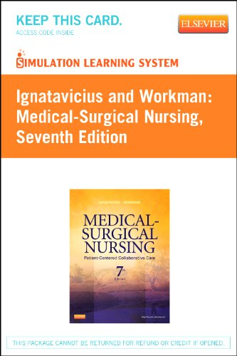 Simulation Learning System - Ignatavicius and Workman Medical-Surgical Nursing 7th 2012 edition cover
