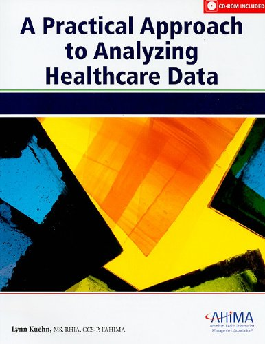 Practical Approach to Analysing Healthcare Data:   2010 edition cover