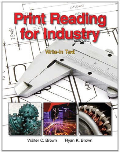 Print Reading for Industry  9th 2011 edition cover