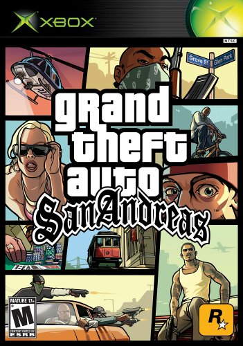 Grand Theft Auto: San Andreas - Xbox Xbox artwork