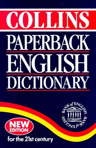 Collins Paperback English Dictionary N/A edition cover
