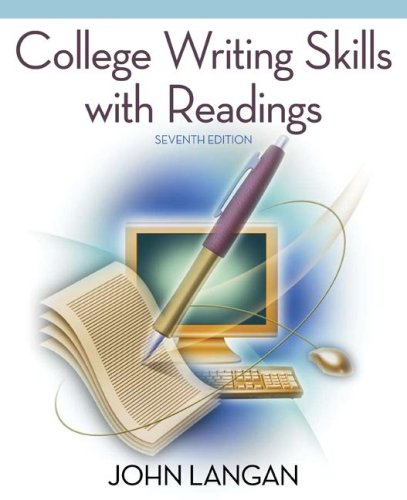 College Writing Skills with Readings  7th 2008 edition cover