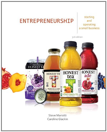 Entrepreneurship Starting and Operating a Small Business 3rd 2013 (Revised) edition cover