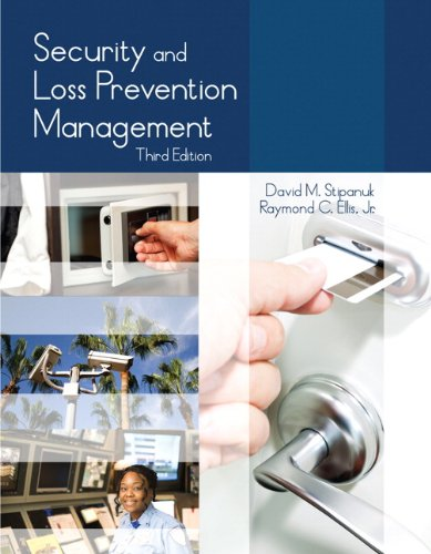 Security and Loss Prevention Management  3rd 2014 9780133419085 Front Cover