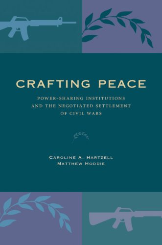 Crafting Peace Power-Sharing Institutions and the Negotiated Settlement of Civil Wars  2007 edition cover