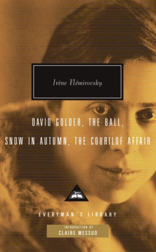 David Golder, the Ball, Snow in Autumn, the Courilof Affair   2008 edition cover