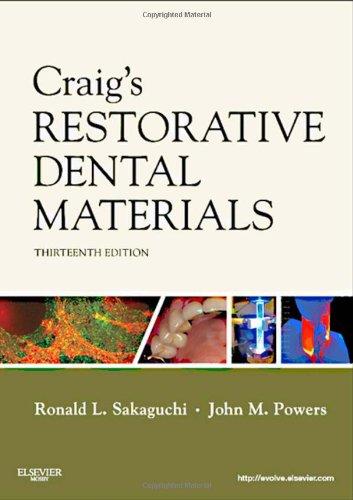 Craig's Restorative Dental Materials  13th 2012 edition cover