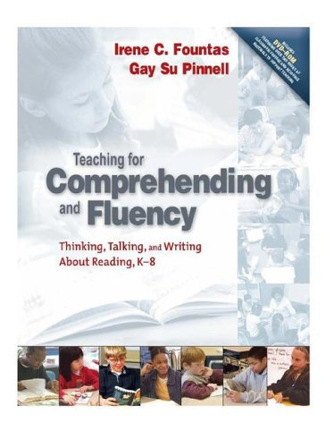 Teaching for Comprehending and Fluency Thinking, Talking, and Writing about Reading 2nd 2005 9780325003085 Front Cover
