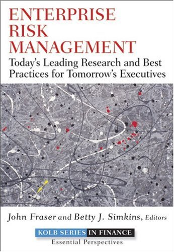 Enterprise Risk Management Today's Leading Research and Best Practices for Tomorrow's Executives  2010 edition cover