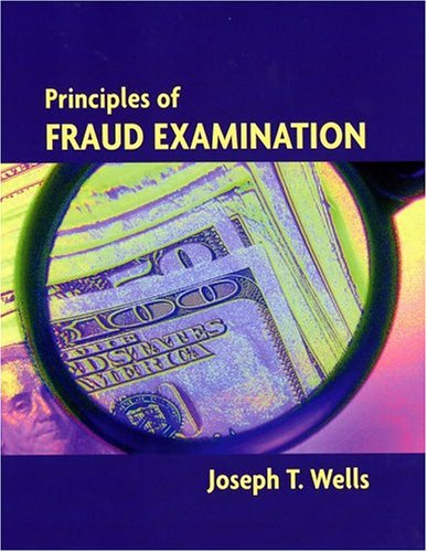Principles of Fraud Examination  11th 2005 edition cover
