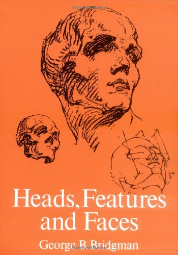 Heads, Features and Faces   1974 (Reprint) edition cover