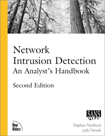 Network Intrusion Detection An Analyst's Handbook 2nd 2000 edition cover