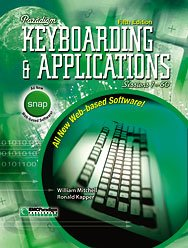 Paradigm Keyboarding and Applications : Sessions 1-60 5th 2006 9780763823085 Front Cover