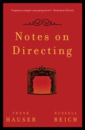 Notes on Directing   2008 edition cover