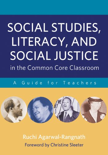 Social Studies, Literacy, and Social Justice in the Common Core Classroom A Guide for Teachers N/A edition cover