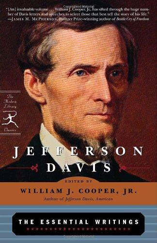 Jefferson Davis The Essential Writings Reprint edition cover