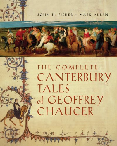 Complete Canterbury Tales of Geoffrey Chaucer   2006 edition cover