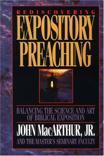 Rediscovering Expository Preaching   1992 edition cover