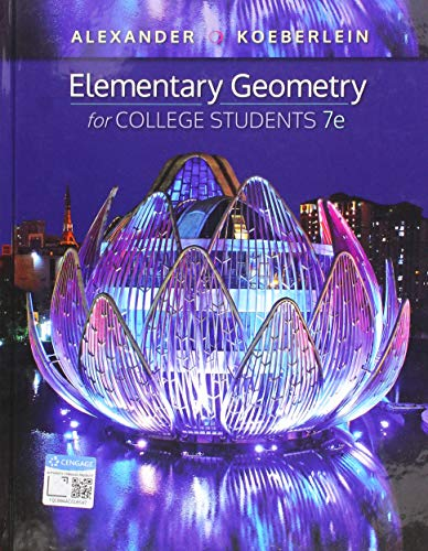 Elementary Geometry for College Students:   2019 9781337614085 Front Cover
