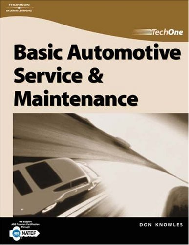 Basic Automotive Service and Maintenance   2005 9781401852085 Front Cover