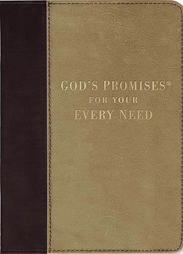 God's Promises for Your Every Need   2008 (Deluxe) 9781404187085 Front Cover
