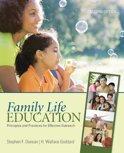 Family Life Education Principles and Practices for Effective Outreach 2nd 2011 edition cover