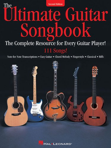 Ultimate Guitar Songbook The Complete Resource for Every Guitar Player! 2nd 2007 (Revised) edition cover