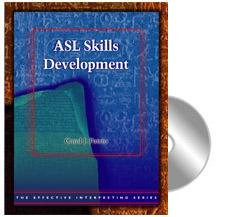 ASL Skills Development   2007 9781581211085 Front Cover