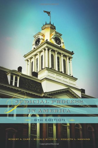 Judicial Process in America, 8th Edition  8th 2010 (Revised) edition cover