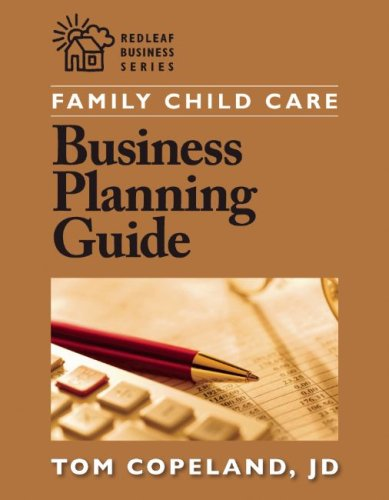 Family Child Care Business Planning Guide   2008 edition cover