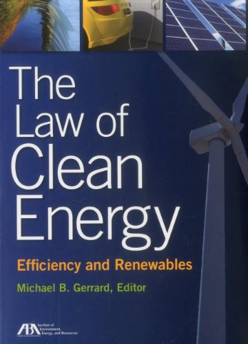 Law of Clean Energy Efficiency and Renewables  2011 edition cover