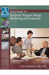 Nuts-and-Bolts Guide to Nonprofit Program Design, Marketing and Evaluation  4th 2002 (Revised) edition cover