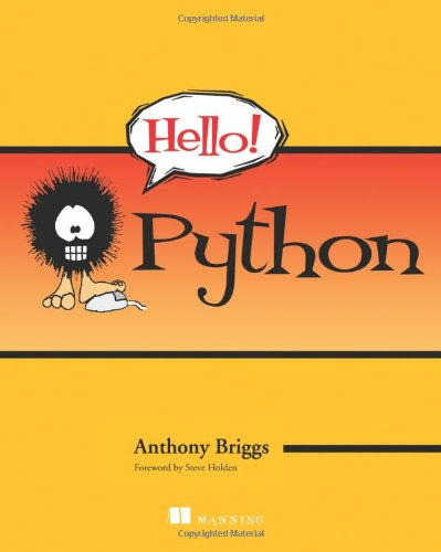Hello! Python   2010 (Revised) 9781935182085 Front Cover
