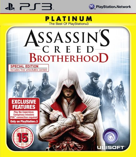 Assassin's Creed Brotherhood - Platinum (PS3) PlayStation 3 artwork