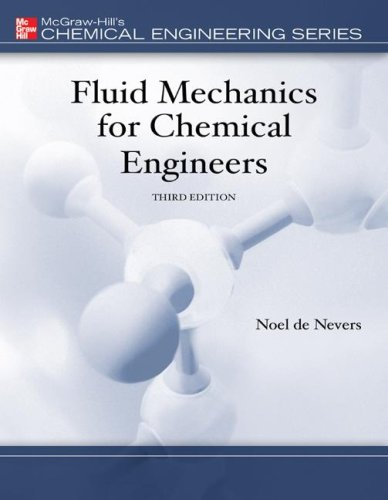 Fluid Mechanics for Chemical Engineers  3rd 2005 edition cover